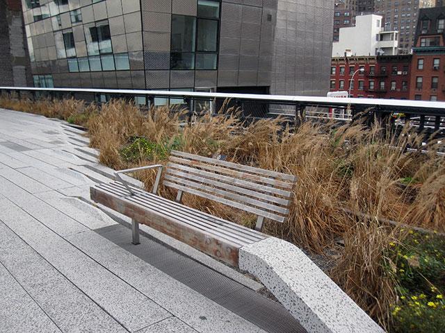 bench on Highline