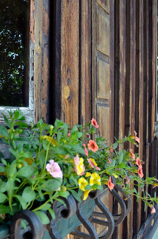country window box