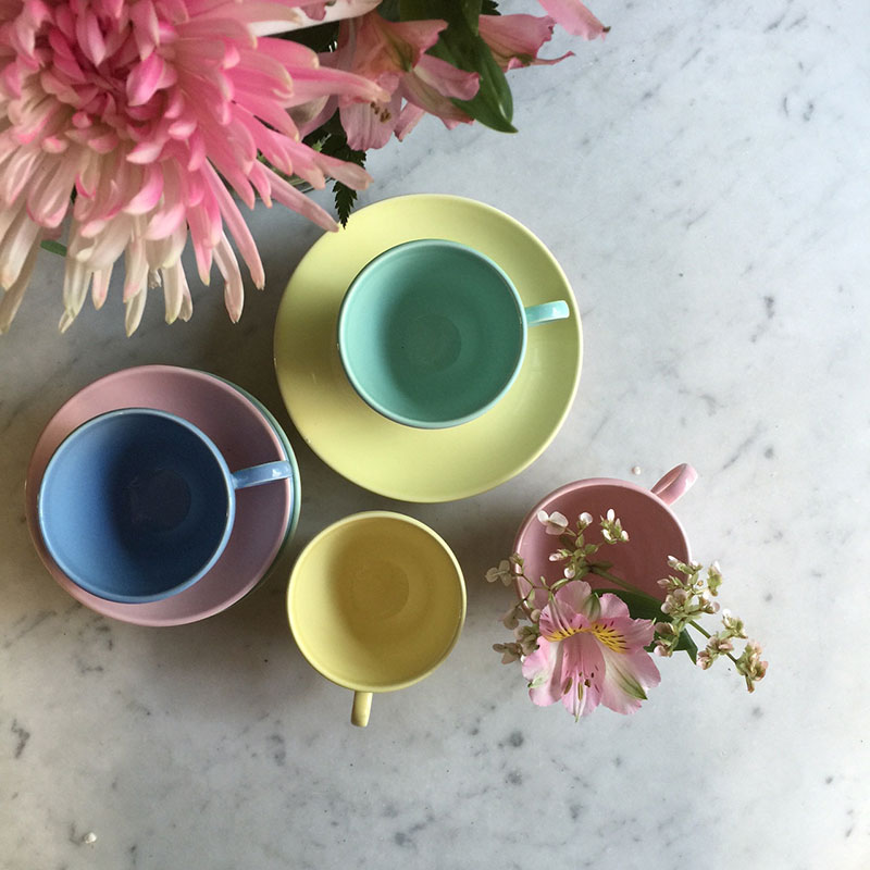 Tabletop pastels / totally by design