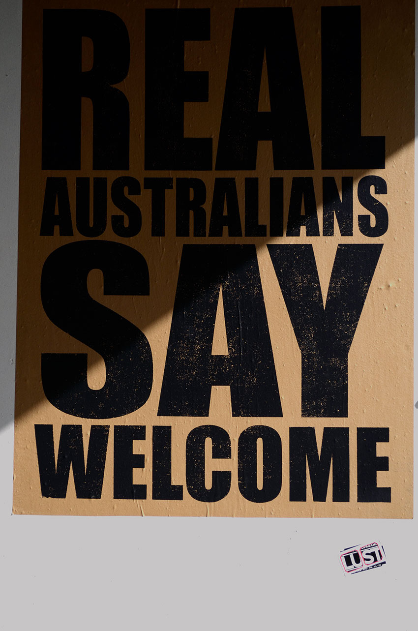 Real Australians Say Welcome | totallybydesign