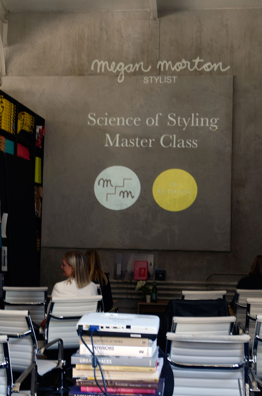 Science of Styling master class with Megan Morton | totallybydesign