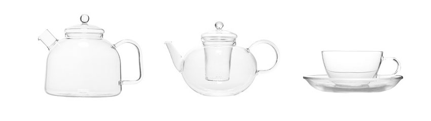 Kaufmann Mercantile teapots and cups | totallybydesign