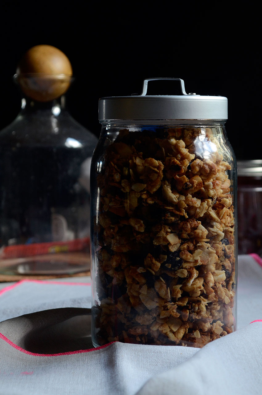 Granola ingredients | totallybydesign