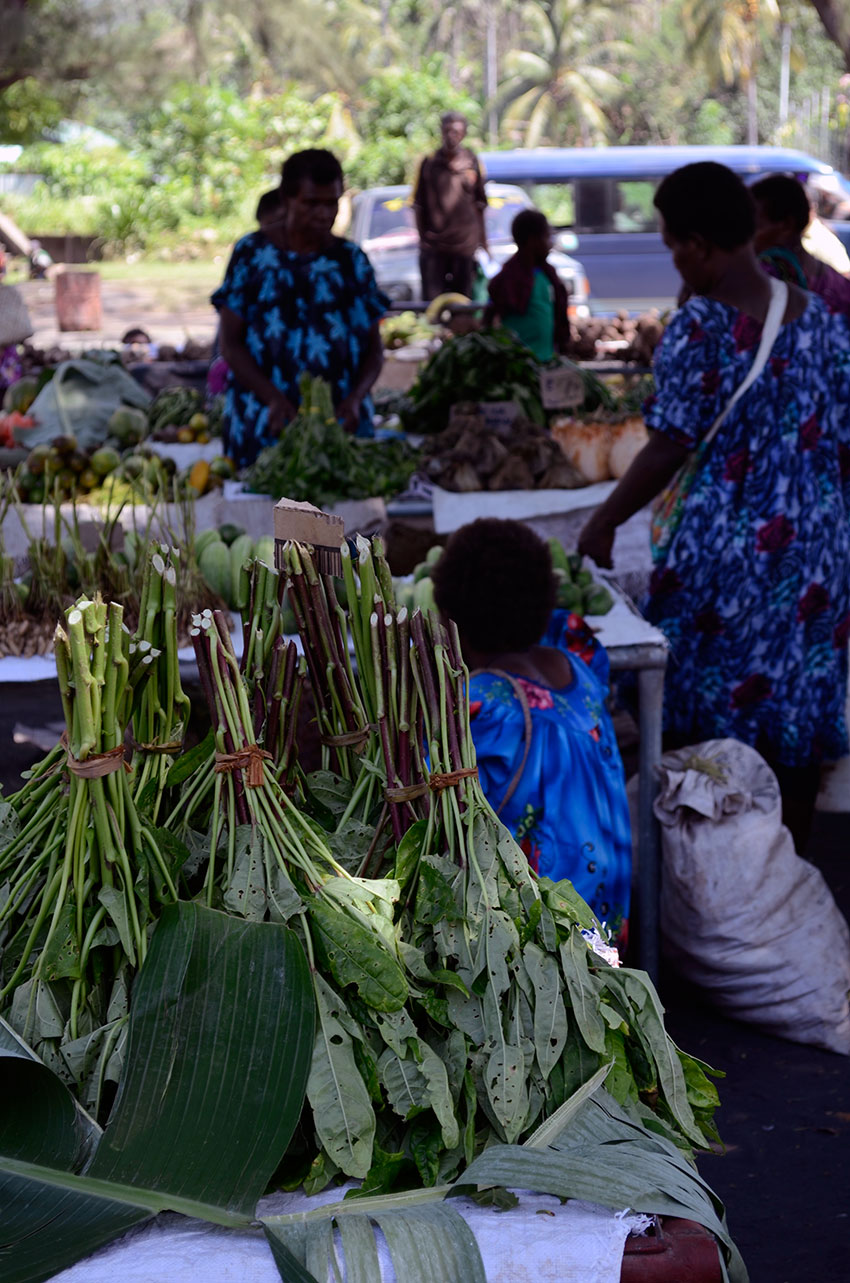 Rabaul green market | totallybydesign