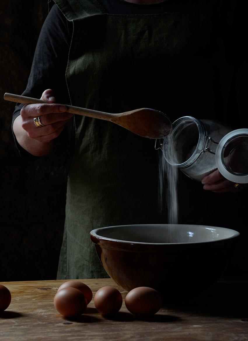 Bowl and flour | totallybydesign.com
