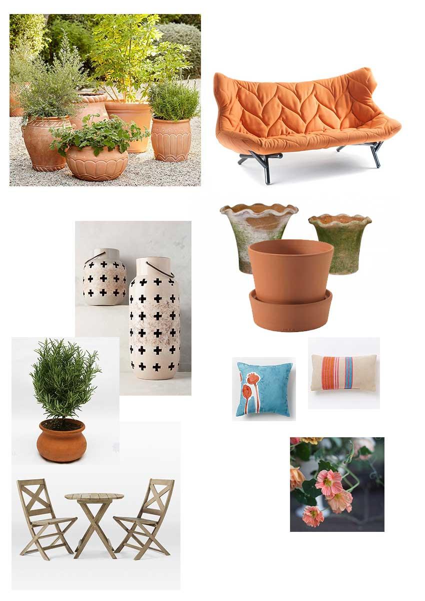 Roman garden moodboard | totallybydesign.com
