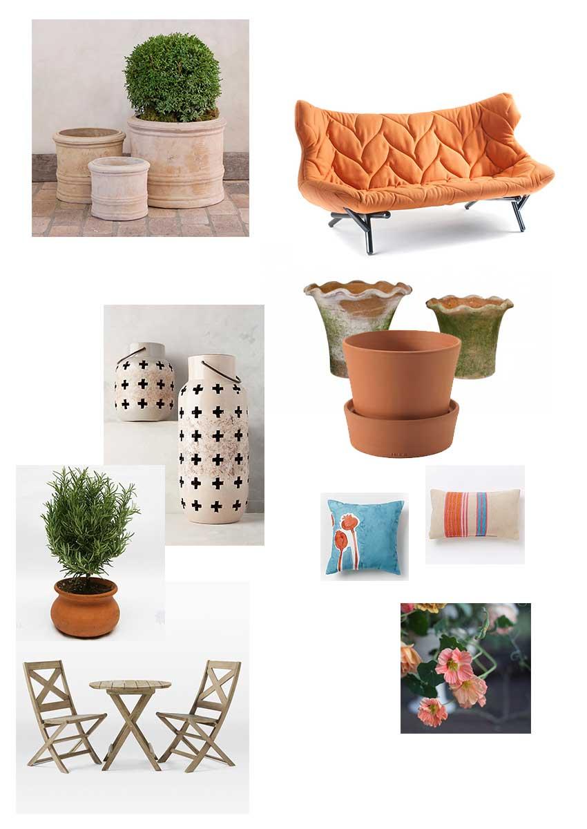 Italian inspired garden moodboard | totallybydesign