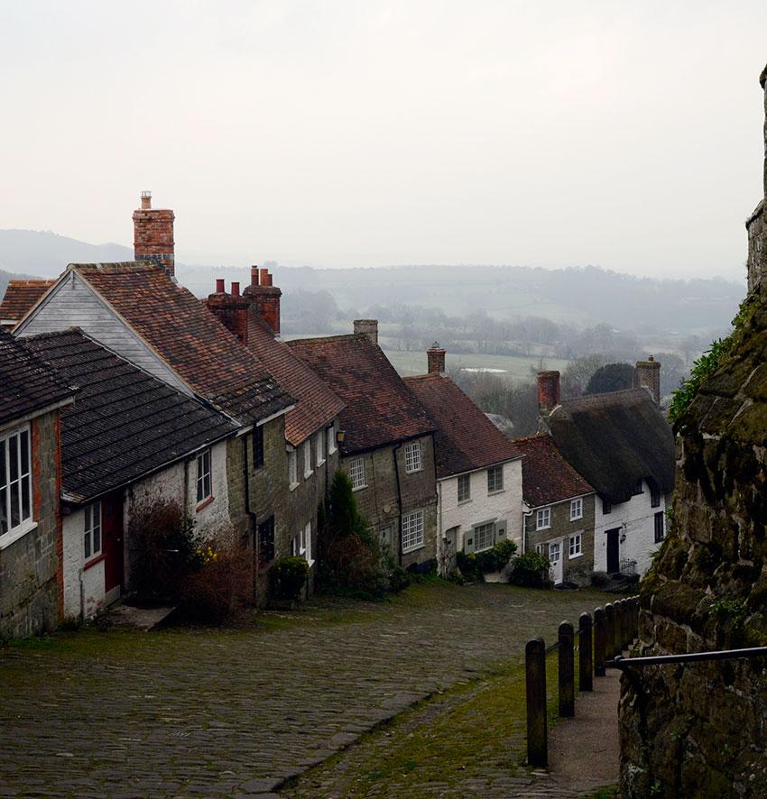 Shaftesbury cottages | totallybydesign.com