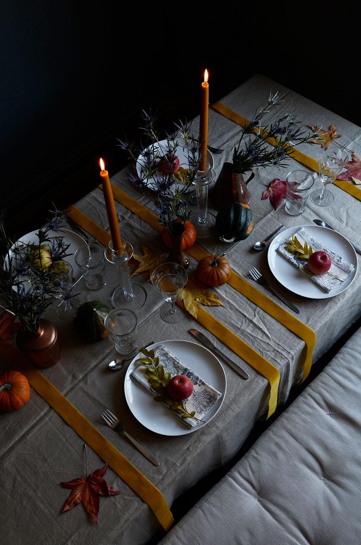 Thanksgiving table setting | totallybydesign.com