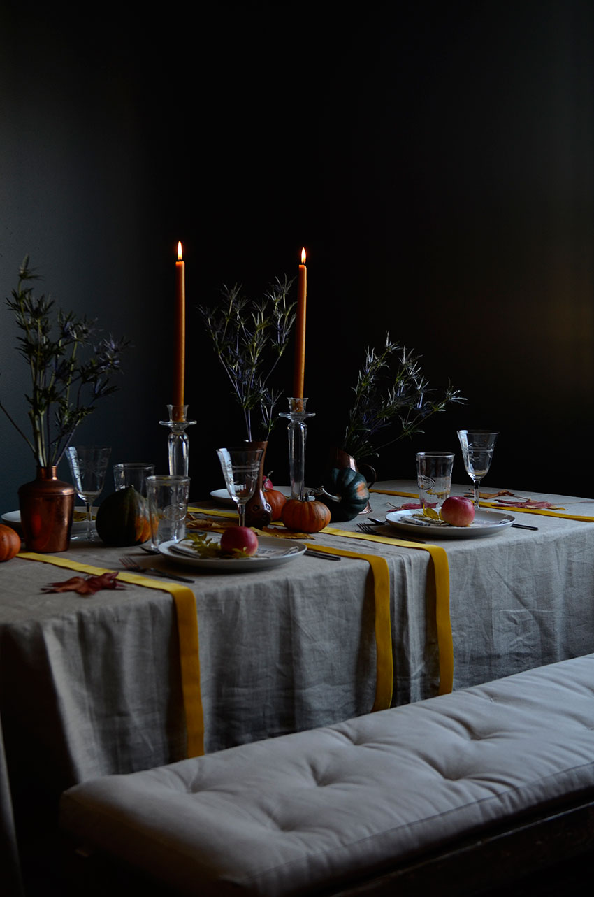 Thanksgiving table setting | totallybydesign.com