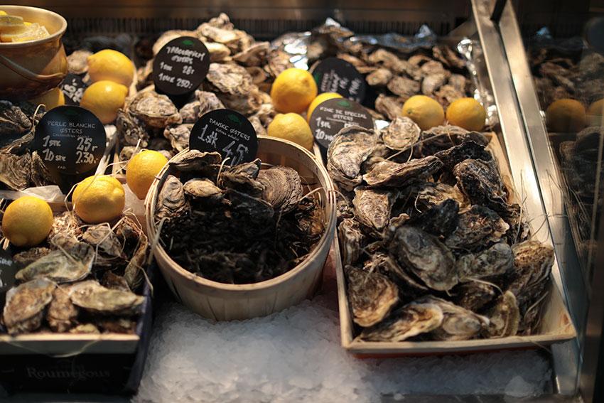 Torvehallerne oysters | totallybydesign.com