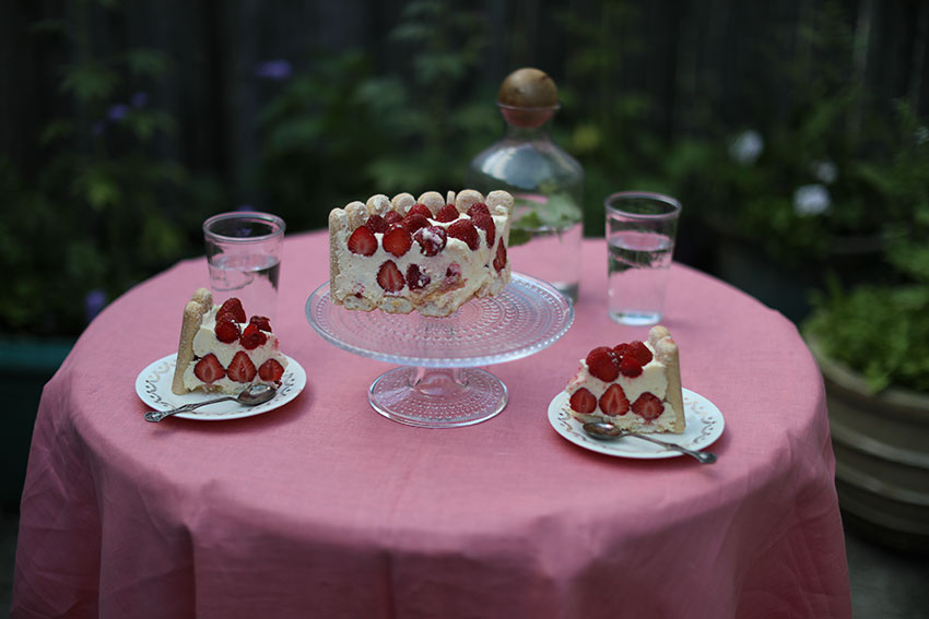 Strawberry dessert | totallybydesign.com